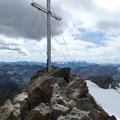 Am Gipfel der Fineilspitze
