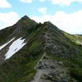 Gratweg zum Portlerhorn