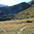 Netter Höhenweg im Bereich der Kalfanwand