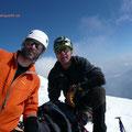 Andreas und ich am Piz Bianco