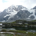 Königspitze Nordwand mit Hintergratsee