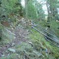 Aufstiegsweg ab Ennewasser