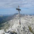 Am Gipfel der Braunarlspitze