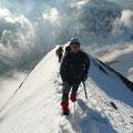 Tief und Weitblick an der Königsspitze