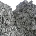 Kamin am Südwestgrat der Öfnerspitze