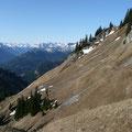 Höhenweg mit Blick zu den Lechtaler Alpen