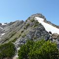 Rückblick zur Hammerspitze