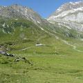 Lazinser Alm am Meraner Höhenweg
