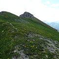 Unterwegs am Gratweg zum Walser Geißhorn