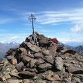 Das kleine Gipfelkreuz
