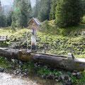 Brunnen bei der Bichlbächler Alm