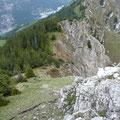 Am Westgrat zum Brentenjoch