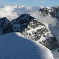 Der Gipfel des Zebru