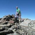 Am Gipfel der Mittleren Pederspitze