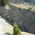 Aufstiegsweg zur Schneetalalpe
