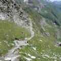 Am Höhenweg mit Blick nach Pfelders