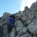 Ein bißchen klettern in gutem Fels