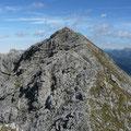 Rückblick zur Hinteren Steinkarspitze