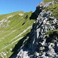 Abschnitt Südostgrat Rothorn