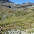 Pedertal,mit Blick zur verfallenen Schildhütte