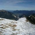 Naturpark Region Lechtal mit Ammergauer Alpen und Reutte in Tirol