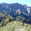 Abstieg über Südostgrat