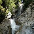 Wasserfall mit Tobel