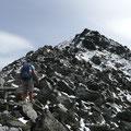 Der lange Gipfelgrat