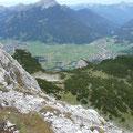Blick auf Ehrwald