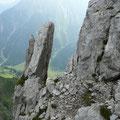 Blick ins Gemsteltal zur Inneren Gemstel Alpe