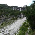 Bei den Wasserfällen