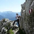 Im Abstieg zur Hütte