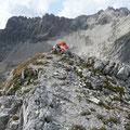 Am Gipfel des Schöneckerkopfes
