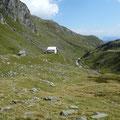 Am Rückweg,kurz vor der Lodnerhütte