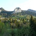 Blick auf die Gemeinde Ebnit