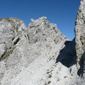 Gratkopf mit Senke,kurz vor dem Gipfel