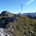 Am Gipfel des Roßgundkopfes