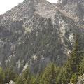 Die Sattelspitze am Franz Huber Steig