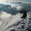 Bergsteiger an der Königsspitze
