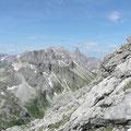 Trettachspitze,Mädelegabel,Hochfrottspitze und Kratzer