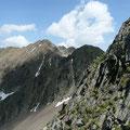 Der Hirzer beim Abstieg von der Hönigspitze