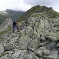 Im Gipfelbereich der Fallungspitze