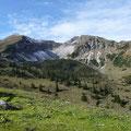 Beide Steinkarspitze mit Kar