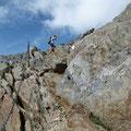 Aufstieg Richtung Fineilspitze