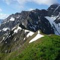 Gratweg zum Kleinen Widderstein