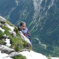 Die Nordseite der Sulzleklammspitze ist durchstiegen