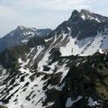 Gundkopf / Nebelhorn / Hindelanger und Großer Daumen