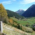 Blick ins Lechtal,beim Aufstieg zur Jöchlspitze