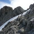 Im Aufstieg zum Steinschartenkopf