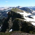 Blick in die Allgäuer Alpen mit Hohem Ifen